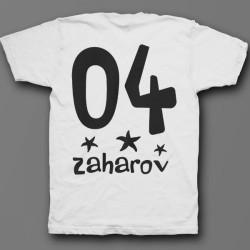Именная футболка с мультяшным шрифтом 24