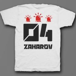 Именная футболка с футуристичным шрифтом 25