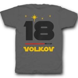 Именная футболка с шрифтом из звёздных войн и лазерным мечом 37