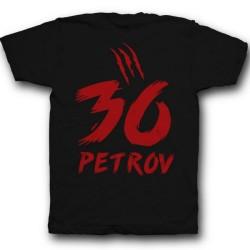 Именная футболка со страшным шрифтом 6