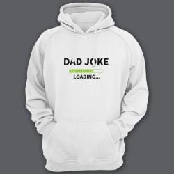 """Толстовка с капюшоном для папы с надписью """"Dad joke loading..."""" (""""Папина шутка грузится..."""")"""