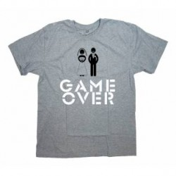 Футболка с надписью [Game Over]