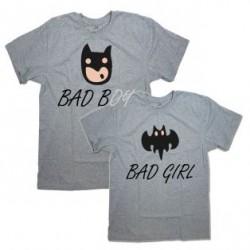 """Парные футболки """"Bad Boy&Bad Girl"""""""