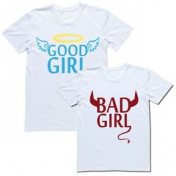 "Парные футболки ""Good girl & Bad girl"""