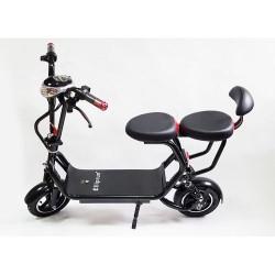 Электросамокат для взрослых с двумя сиденьями Elliprun 500W