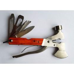 Складной швейцарский многофункциональный нож-топор-молоток Swis-1 8в1
