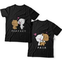 """Парные футболки для влюбленных """"Perfect pair"""""""