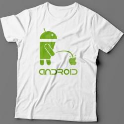 """Прикольная футболка с надписью """"Android"""""""