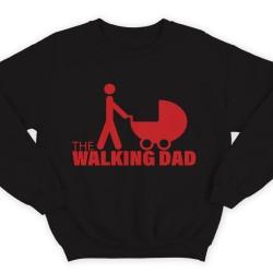 """Прикольные свитшоты с надписью """"The walking dad"""" (""""ходячий отец"""")"""