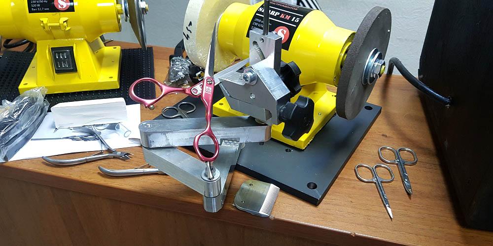 станок для заточки машинок для стрижки