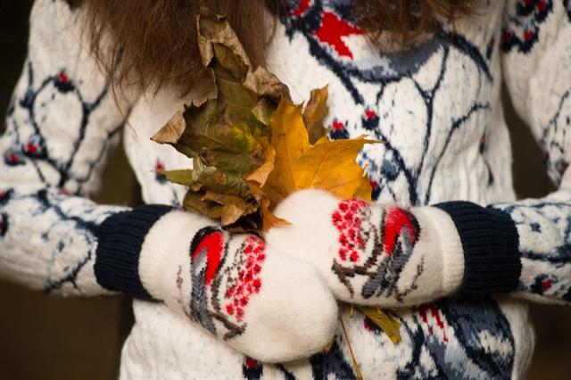 Красный свитер с оленями в Magazin-Jumperov.ru