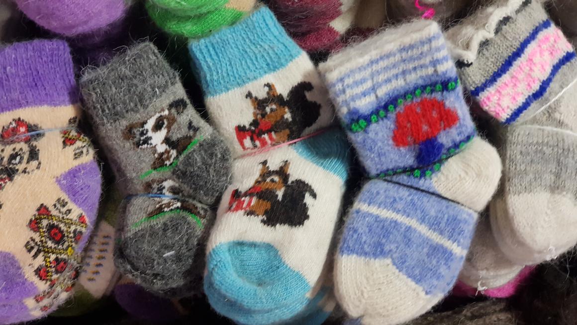 Детские шерстяные носки от 150 рублей в Москве