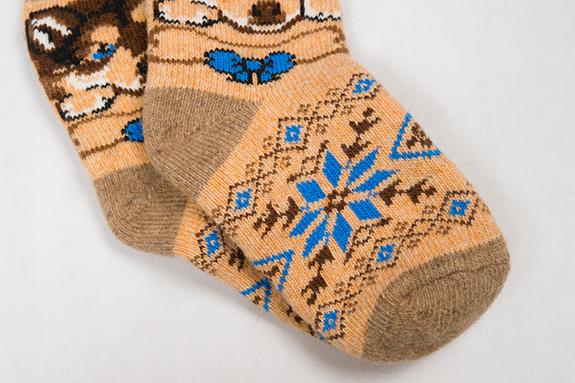 Купить шерстяные носки недорого