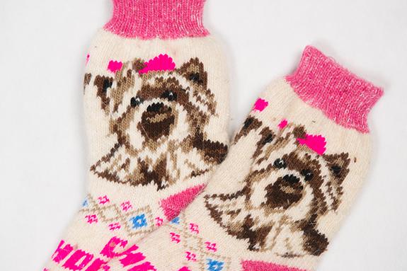 Шерстяные носки купить в Москве