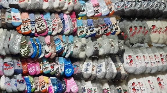 Шерстяные носки дешево на Таганской