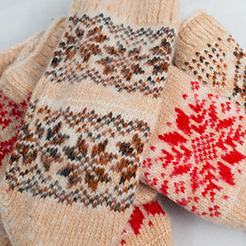 Купить вязанные носки