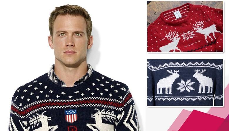 Купить свитеры с оленями!